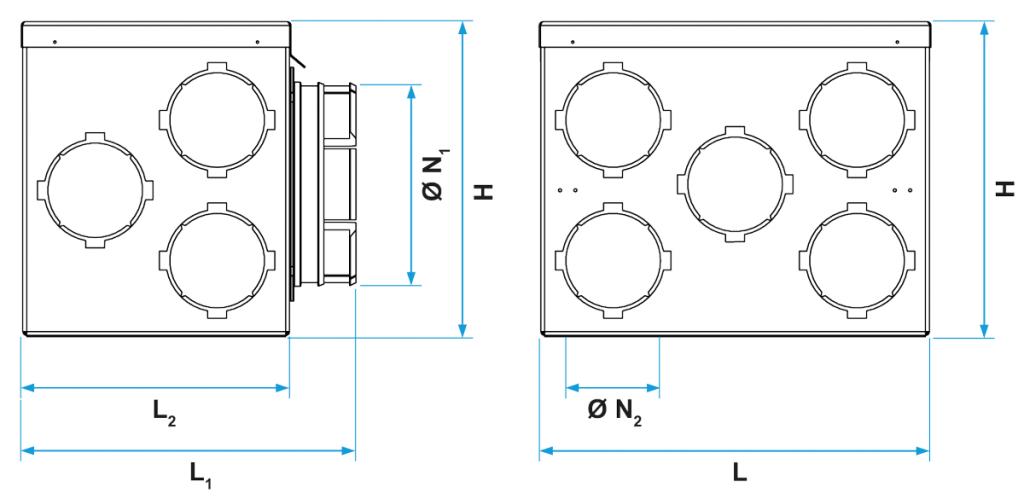 Aldes-Optiflex-Caisson-11P_Encombrement_001