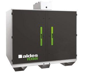 Centrale double-flux - D-systeem tertiaire Aldes VEX 600