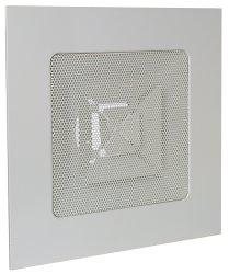 Diffuseurs carrés à tôle perforée pour dalles 600x600 Aldes Vierkante roosters met perforatieplaten voor plafondtegel 600 x 600 SC 360 R