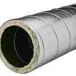 Réseau calorifugé double peau Galva Dubbelwandige thermisch-geïsoleerde kanalen Aldes