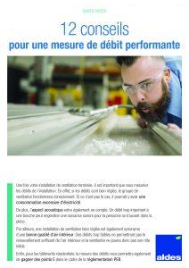 12 conseils pour une mesure de débit performante - Aldes Benelux