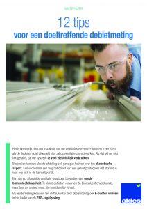 12 tips voor een doeltreffende debietmeting - Aldes Benelux