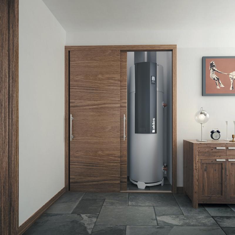Aldes Tflow hygro thermodynamische boiler met ventilatie